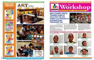 GCA Caribbean HeritageSummer Workshop 2015