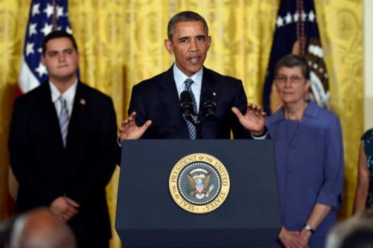 President Obama launches the Clean Power Plan - 3 August 2015 - USA