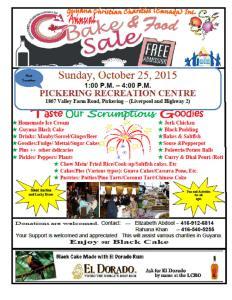 GCC- 2015 Bake Sale