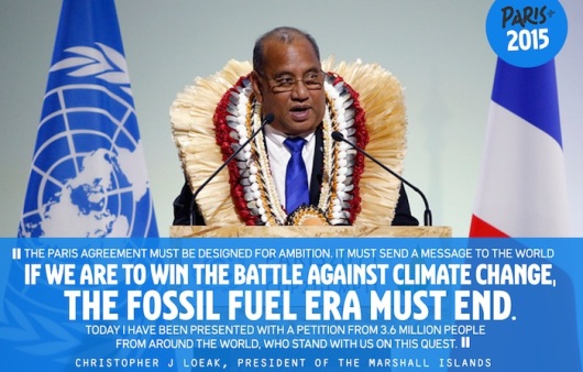 Fossil Fuel Era Must End