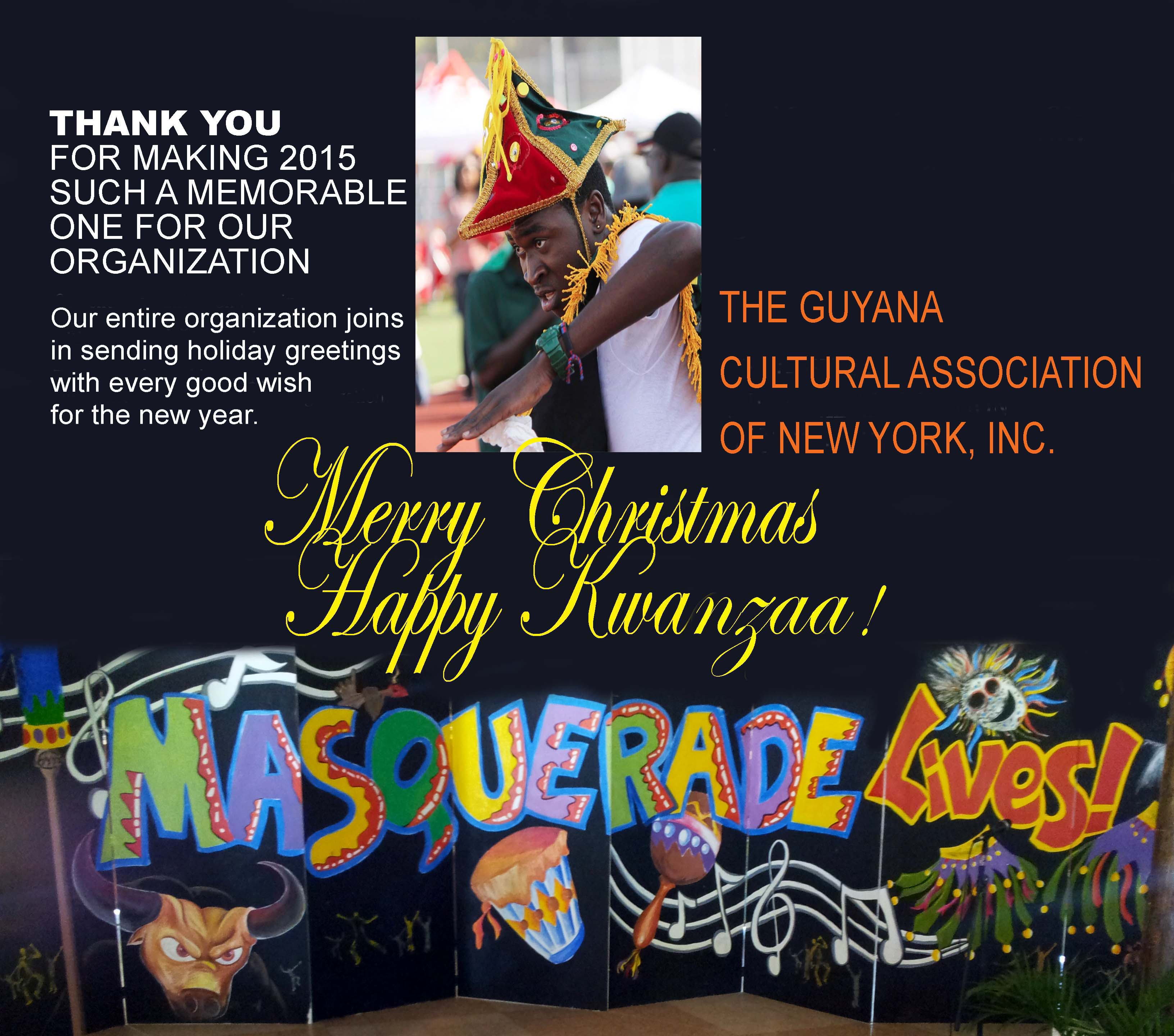 Greetings from the guyana cultural association of new york 2015 of new york 2015 gca christmas greetings fin kristyandbryce Images
