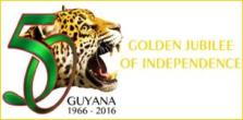 Guyana 50th logo