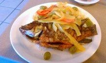 Caribbean fish at Love Cuisine in Phoenix