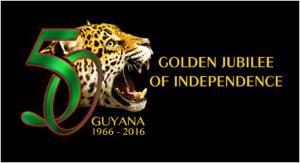 Guyana 50th Logo
