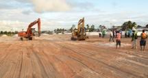 Work in Progress at Durban Park