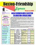 Buxton-Friendship Express - March 2016
