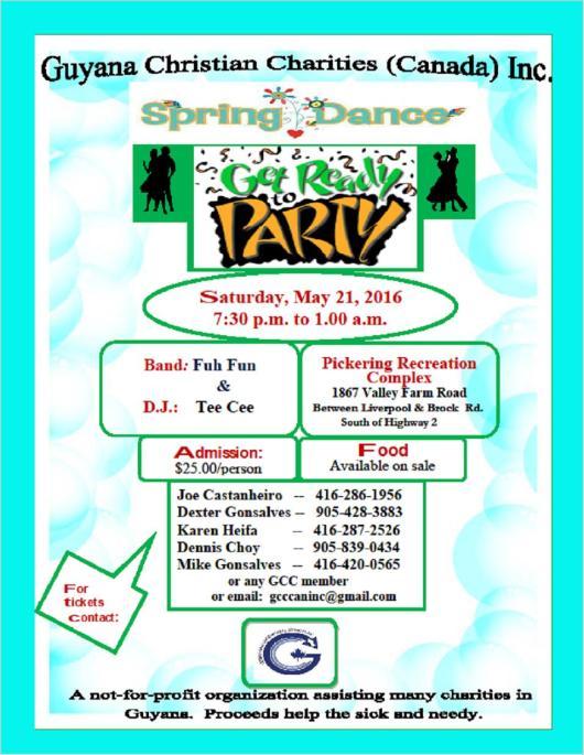 GCC Spring Dance