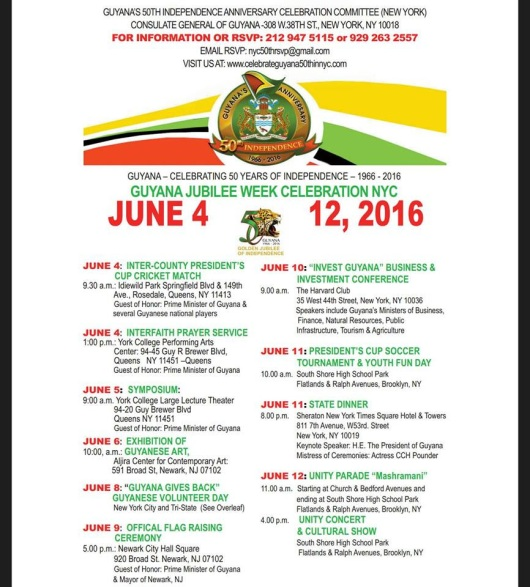 NYC Jubilee Guyana