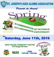 St Joseph 2016 Spring Dance Flyer