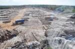 Bai-shan-lin log yard -Kwakwani