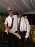 Dave Martins and Francis Quamina Farrier