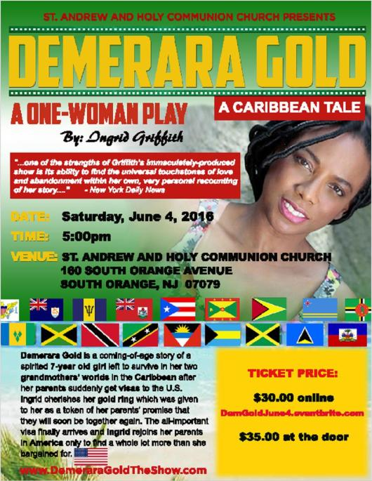 Demerara Gold - June 4 - New Jersey USA