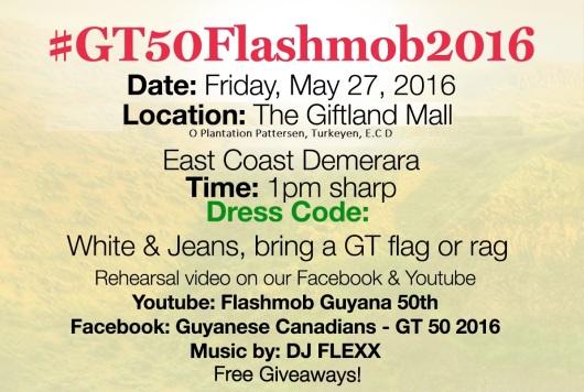 #GT50Flashmob2016