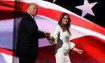 Donald TRump introduces wife, Melissa