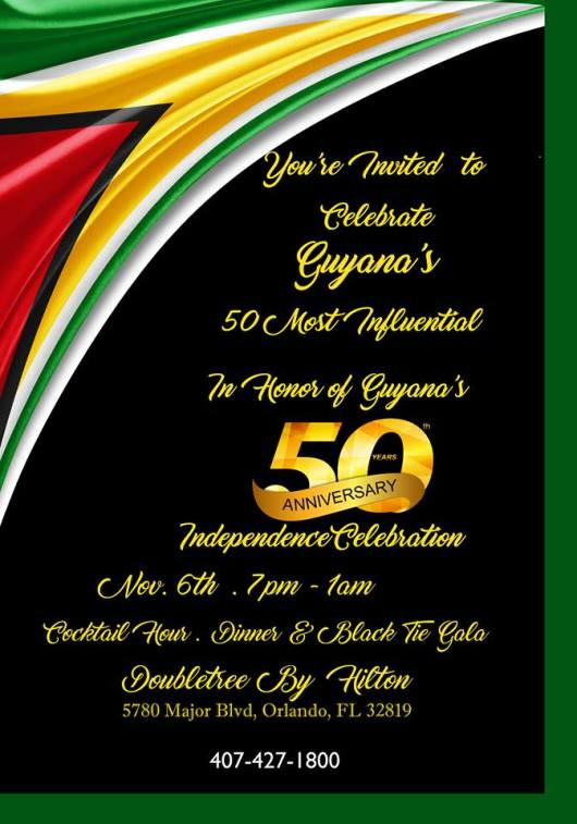 Guyana 50-50 Awards Banquet
