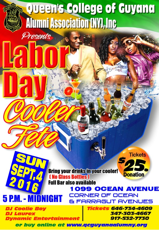 Labor Day Cooler fete