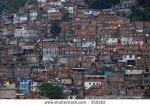 Favella in Rio de JAneiro
