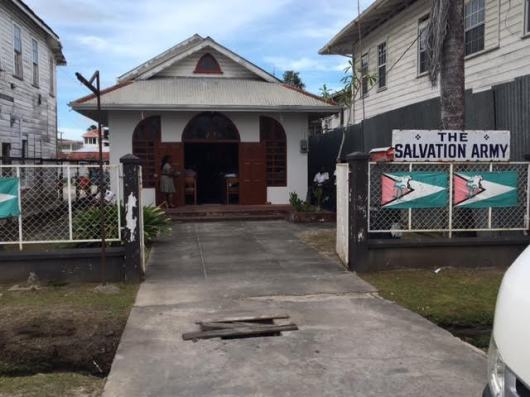 The tiny Salvation Army church in Queenstown
