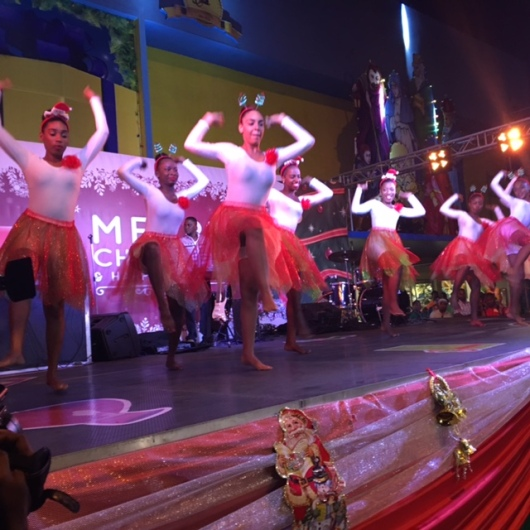 The National School of Dance on stage