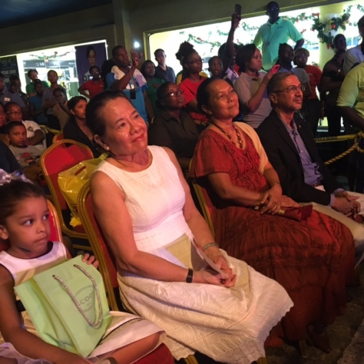 First Lady Sandra Granger was a Special Guest at the COURTS Christmas Show
