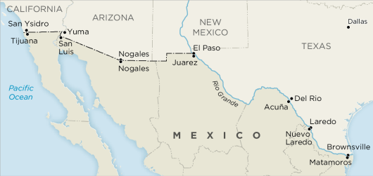 us-mexico-border-cities