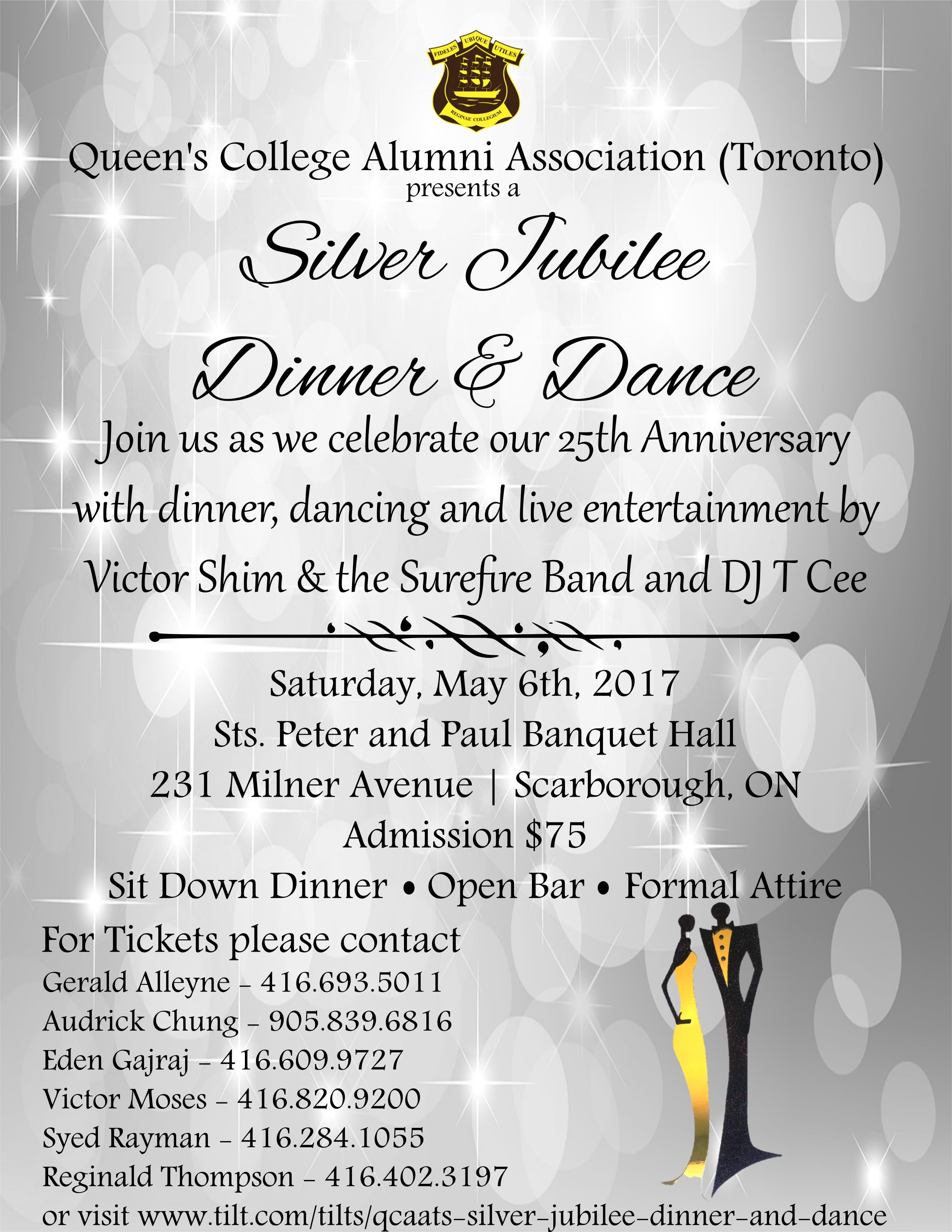 Queen's College Alumni Association – Toronto- Silver Jubilee