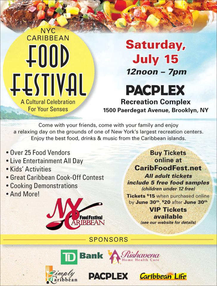 Nyc Caribbean Food Festival Brooklyn Ny July 15 2017