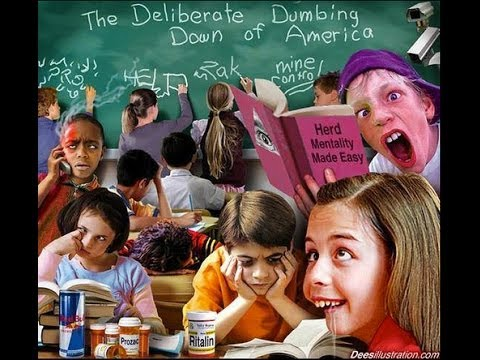 Image result for the dumbing down of america