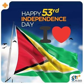 GUYANA: HAPPY 53RD INDEPENDENCE TO ALL – Message from