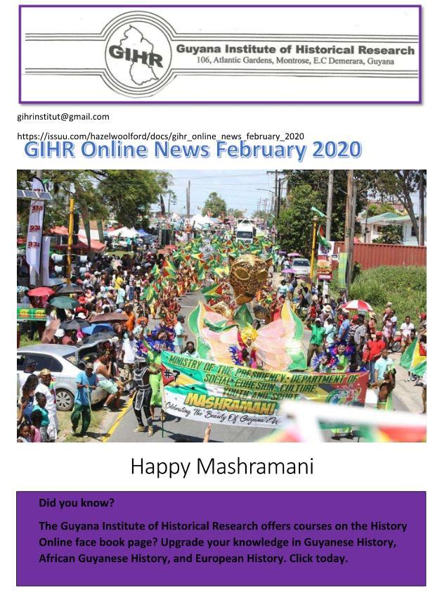 guyana news today 2020